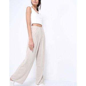 5/$30 🆕 khaki wide leg trousers